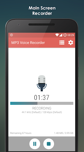 MP3 Voice Recorder 2.3.5 screenshots 1