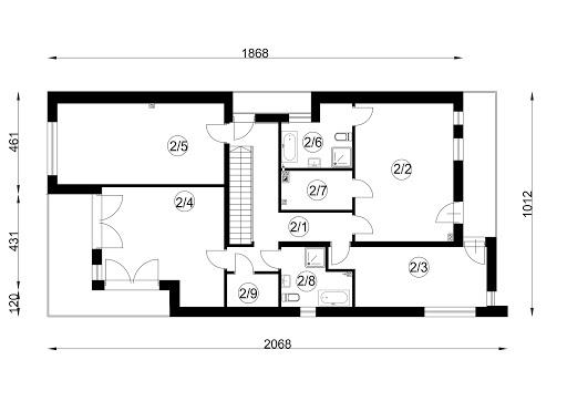 FX-30 - Rzut piętra