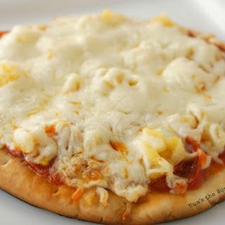 Flat Bread Pizza.