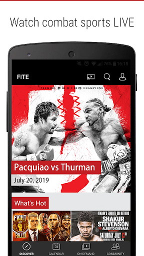 FITE - Boxing, Wrestling, MMA 3.5 screenshots 1