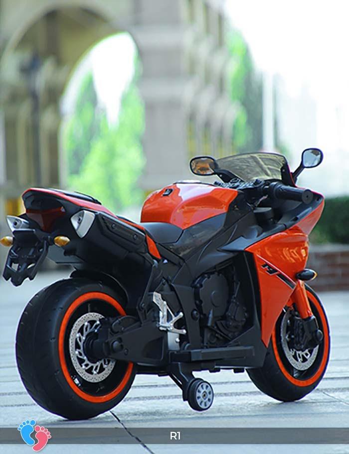 Xe mô tô điện thể thao cho trẻ R1 24