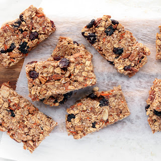 Carrot Cake Granola Bars.