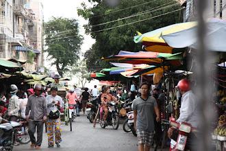 Photo: Year 2 Day 36 -  Market in Phnom Penh