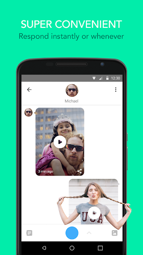 Glide - Video Chat Messenger Glide.v10.357.309 screenshots 2