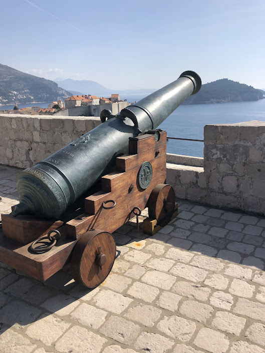 Cannon at Fort Lovrijenac