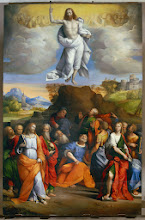 Photo: Ascension of Christ. 1510-1520. Oil on panel.  Image licenced to Amy Jordan CNN PRODUCTIONS by Amy Jordan Usage :  - 3000 X 3000 pixels (Letter Size, A4)  © Scala / Art Resource