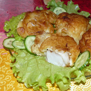 Red Snapper in Beer Batter