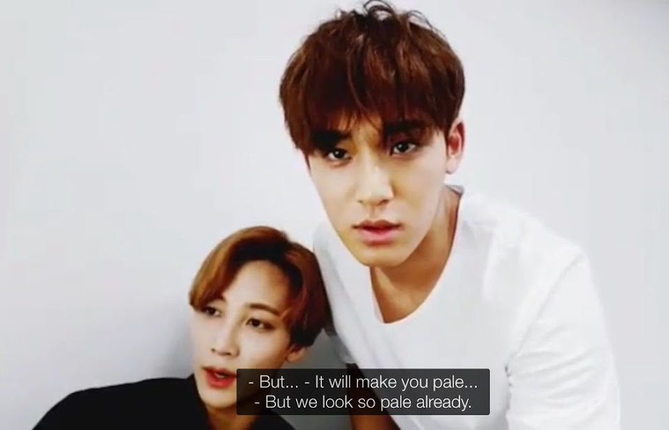 SEVENTEEN Mingyu and Jeonghan