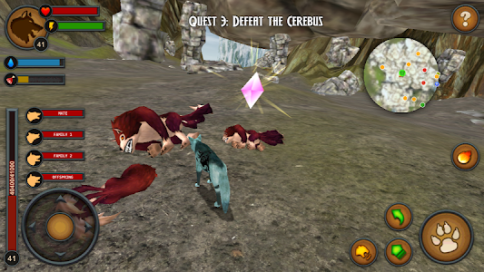 Wolves of the Forest screenshot 14
