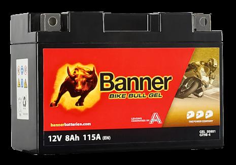 Banner Bike Bull GEL GT9B-4 12V 8Ah