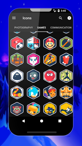 Givon - Icon Pack app for Android screenshot