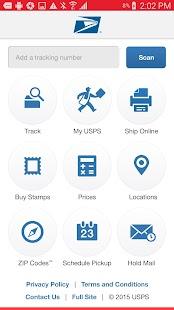 USPS MOBILE®- screenshot thumbnail