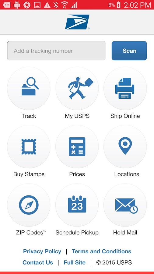 USPS MOBILE®- screenshot