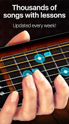 Guitar - play music games, pro tabs and chords! APK screenshot thumbnail 2
