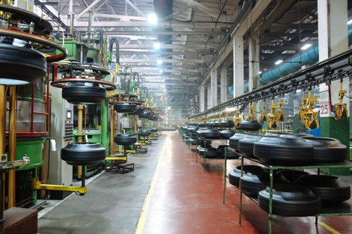Tyre factory creates more jobs for the youth