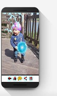 Dragon Super Sayian Z Camera effect - náhled