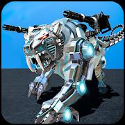 White Tiger Robot Transformation Game - Car Robot