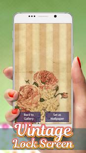 Vintage Lock Screen Wallpaper - náhled