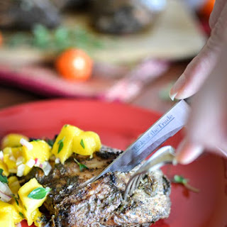 21 Day Fix Jerk Chicken with Mango Salsa