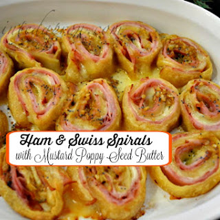 Party Panache, Ham & Swiss Swirls and Appetizer Tips.