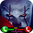 FAKE CALL FROM VEDIO PENNYWISE KILLER icon