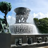 Frogner Park in Oslo, Oslo, Norway