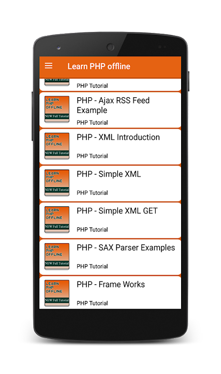 Learn PHP Offline – (Android Apps) — AppAgg