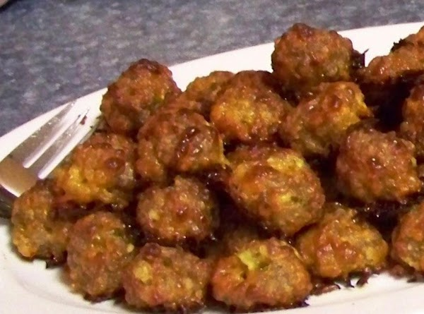 Spicy Sausage Balls With Water Chestnuts Recipe
