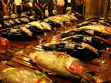 Photo: Thons Le marché aux poissons à Tokyo