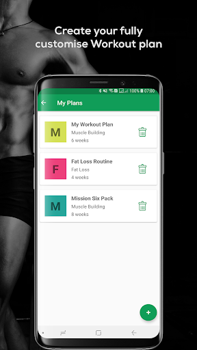 Fitvate - Home & Gym Workout Trainer Fitness Plans 6.8 screenshots 8