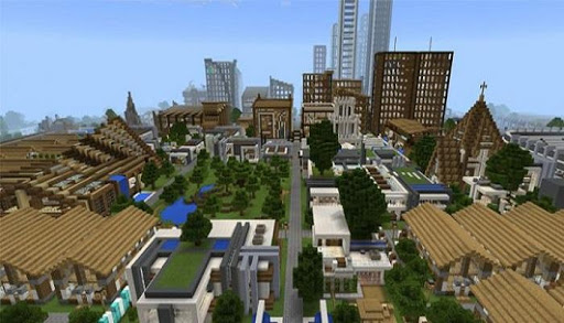 Download Epican Republic Minecraft City Map MCPE on PC & Mac with ...