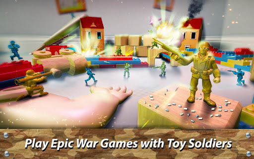 ? Toy Commander: Army Men Battles  άμαξα προς μίσθωση screenshots 1