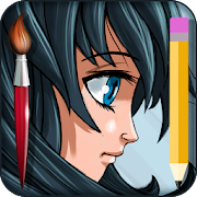 How to draw Anime & Manga: step by step learn icon