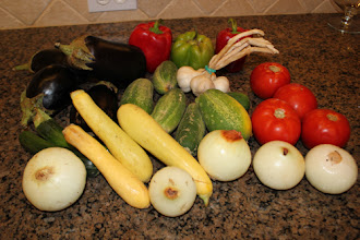 Photo: Some of my vegetable bounty!