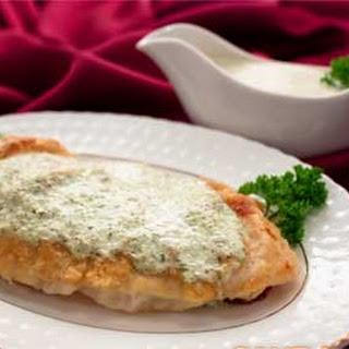 Fried Tilapia Fillets with Sorrel Sauce