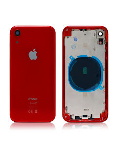 iPhone XR Housing without small parts HQ Red
