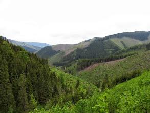 Photo: 20.W dole dolina oznaczona na mapie jako Podvrch.