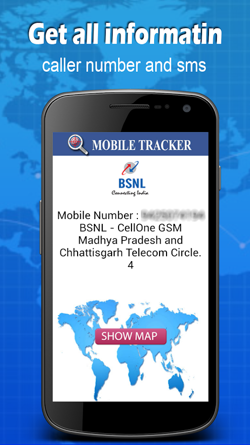 Screenshots of Mobile Number Locator for iPhone