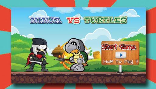 Ninja vs Turtle Running Game