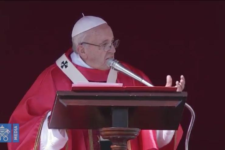 Bài giảng Lễ Lá của Đức Thánh Cha