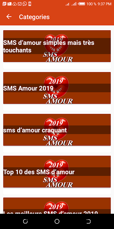 Beaux Mots Damour 2019 Android App Appagg