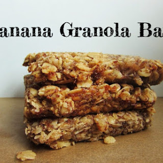 Banana Granola Bars [Vegan]