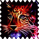 Sparkling tiger cub Live WP icon