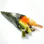 Prawn and Avocado Maki