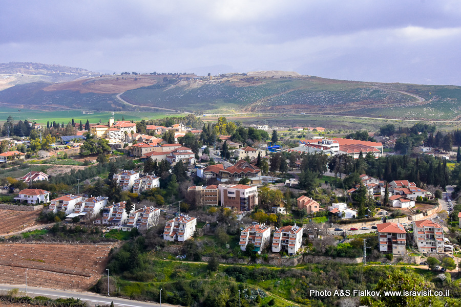 Метула. Израиль. Экскурсия по Галилее.