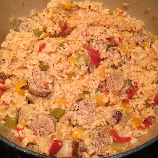 Dutch Oven Jambalaya.