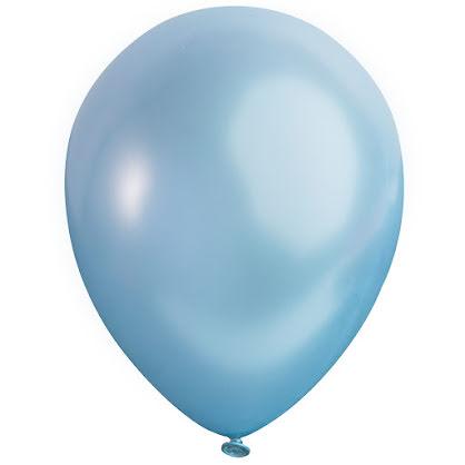Ballong lösvikt satin, Blå