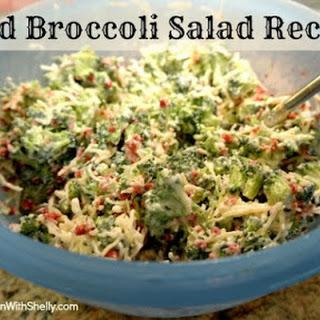 Cold Broccoli Salad.