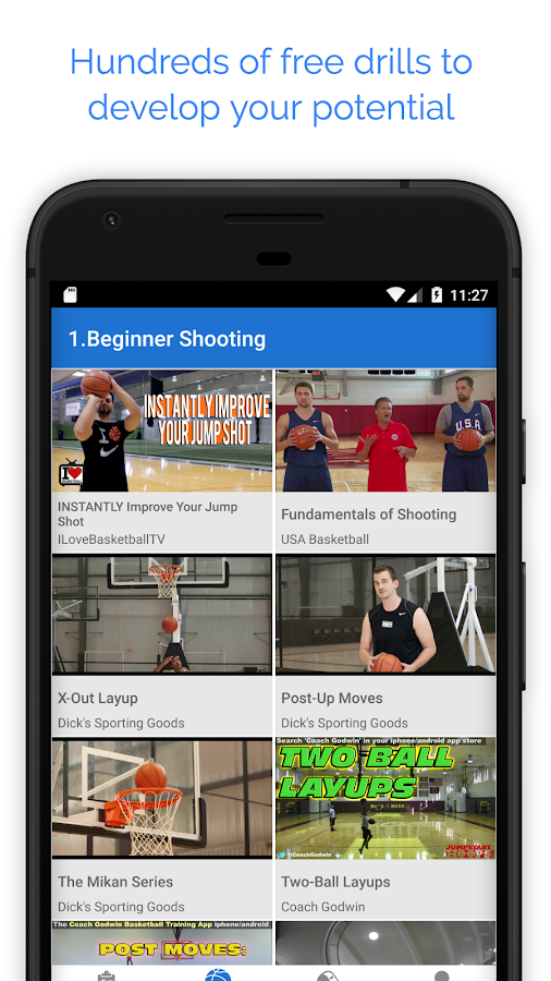 Hustle - Basketball Drills for Coaches and Players- screenshot