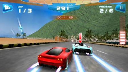 Fast Racing 3D APK screenshot thumbnail 2